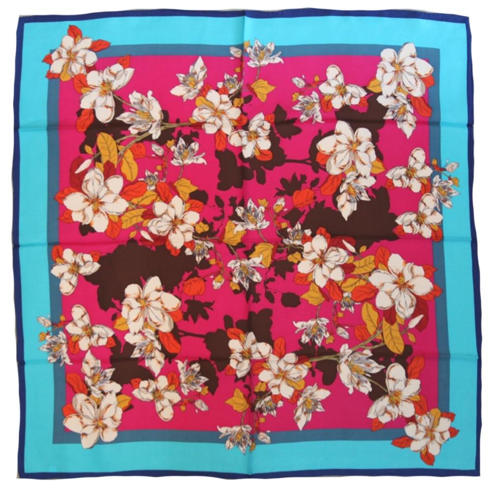 ELEGANT HANDMADE BRAND 100%Twill Silk Scarf TWIC-169431