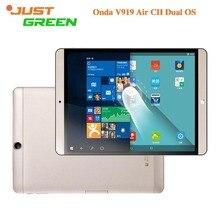 Original Onda V919 ALMOHADILLA de Aire CH Arranque Dual PC de la Tableta de 9.7 pulgadas 2048×1536 Intel Z8300 Quad Core 4 GB RAM 64 GB ROM 2MP HDMI OTG MINI PC