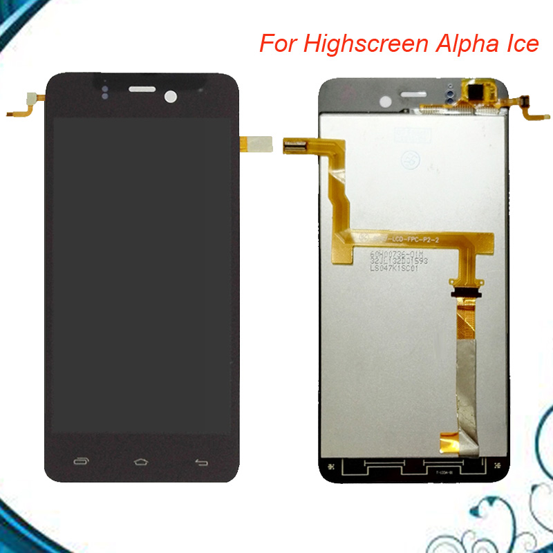 High Quality Black Lcd For Highscreen Alpha Ice LCD