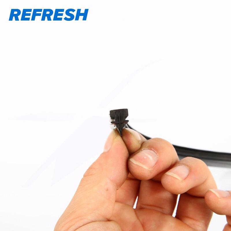 Сменная резиновая сменная часть стеклоочистителя для DENSO, гибридная поверхность стеклоочистителей с тефлоновой технологией, срок службы до 40