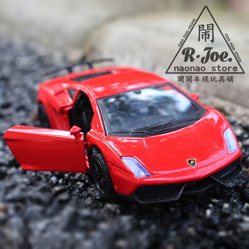 aliexpresscom buy 136 metal car models kids toys lanbogini lp570 super sports car children like the gift music back to function light ty from reliable