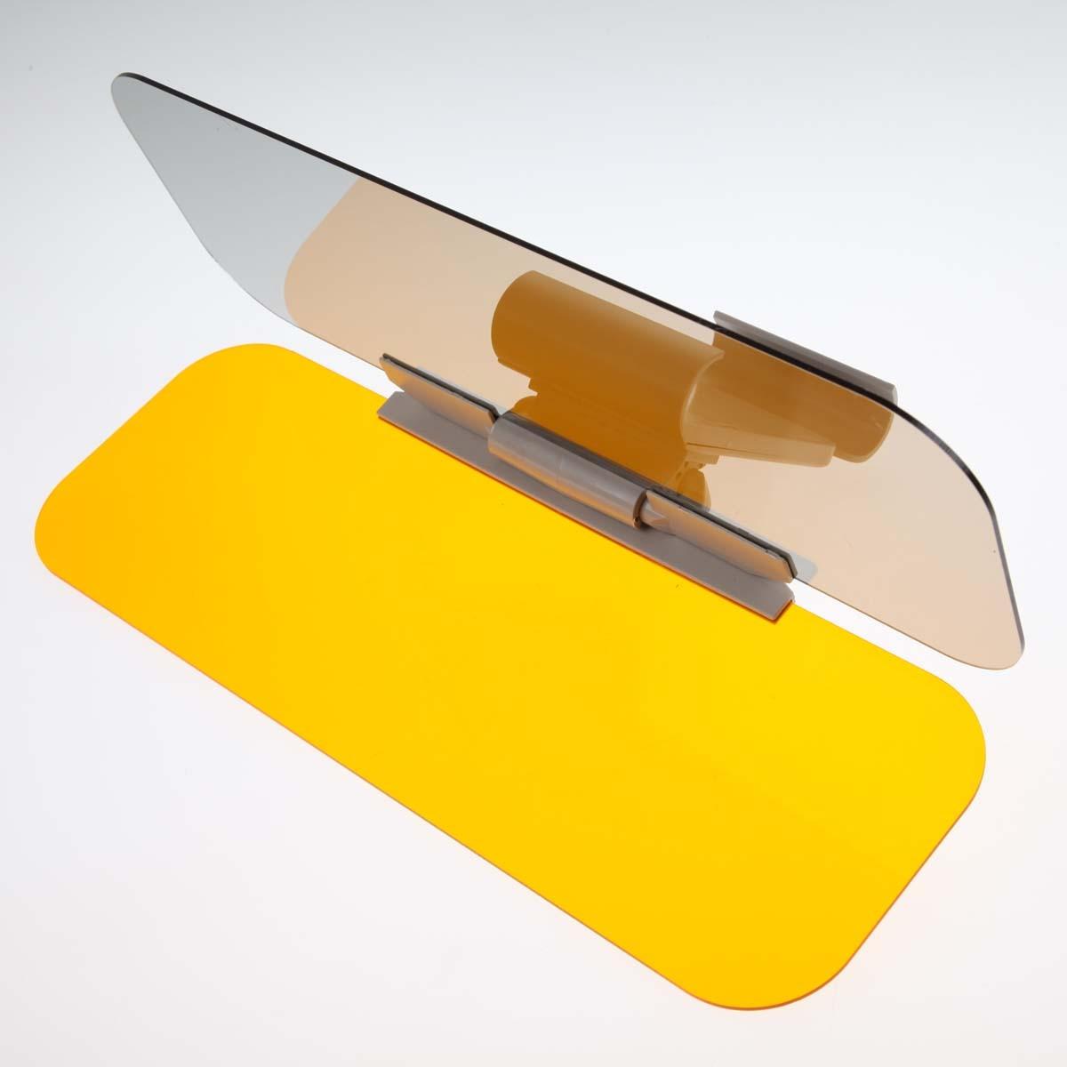 Nuovo arrivo 2 in 1 Auto Anti-glare Giorno Notte di Guida vetro Prevenire Dazzle Specchio Occhiali Da Sole A Specchio Visiere Ombra Spedizione libero