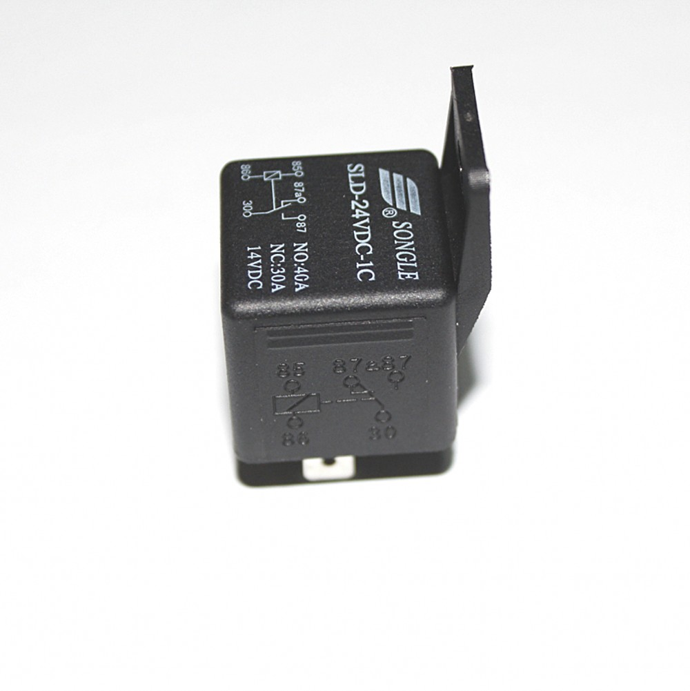 5X 12 V Waterproof Car 5Pin 40//A Long Life Automotive Relay Normally Open DC