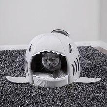 Gato da casa de cama de tubarão cesta doce brinquedos para cães gaiola de hamster caverna acessórios para animais de estimação produtos suprimentos