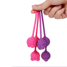 sex toys For Women Waterproof 3 Balls Bead Medical vaginal balls kegel exercises Female Silicone Koro Kegel Ball exercise ball