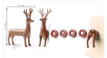 Artificial Animal Design Fridge Magnet Home Improvement Refrigerator Education Kids Toys Souvenir Wall Sticker 10