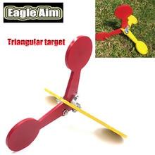 Paintball extérieur cible tir pratique triangulaire Paintball pistolet à Air cible tir cible Paintball triangulaire