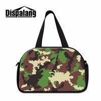 Dispalang Camouflage medium travel duffel bags Mens travel handbags shoulder garment bag Cool travel Tote Gymi Bag for Boys
