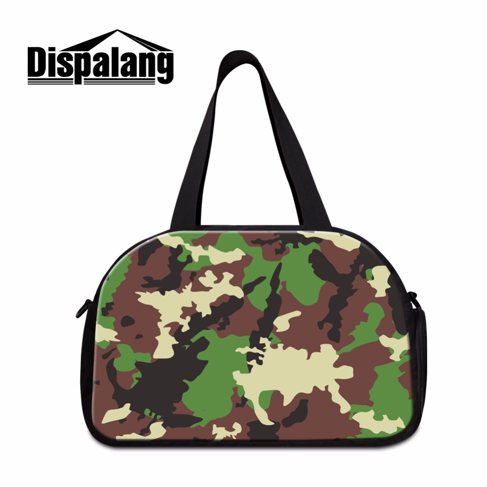 d1eb057f3a Dispalang Camouflage medium travel duffel bags Mens travel handbags  shoulder garment bag Cool travel Tote Gymi Bag for Boys-in Travel Bags from  Luggage ...