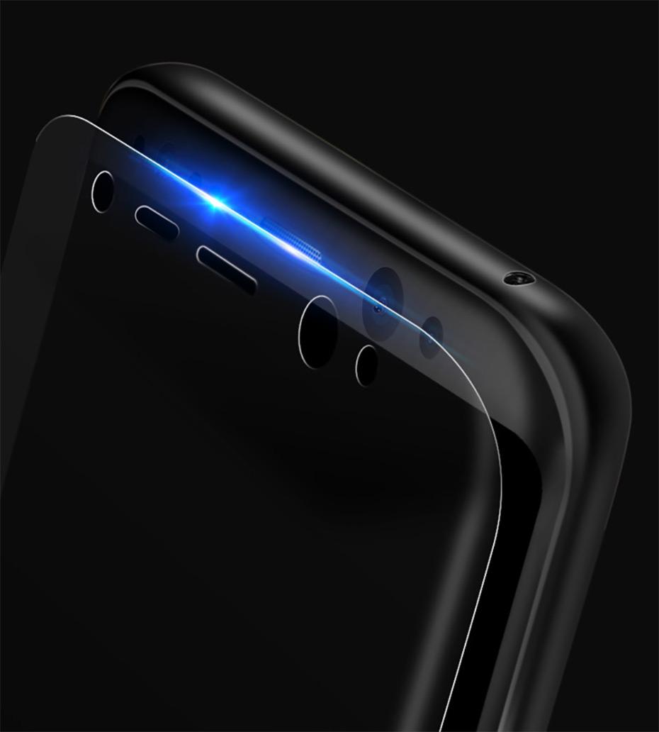 nagfak 3д мягкие изогнутые экран протектор для samsung галактики край С6 С7 С8 костюм плёнки для samsung С6 С7 С8 С8 плюс