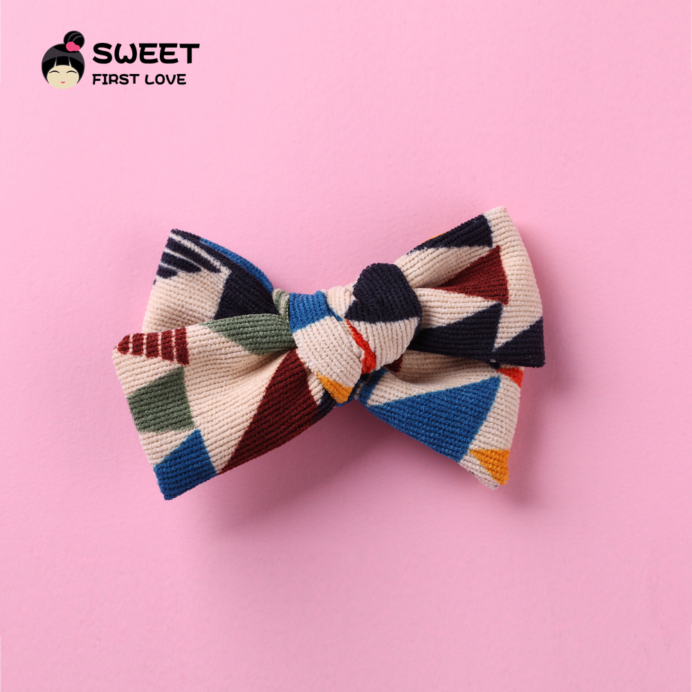 Lovely Plaid Fabric Bow Baby Hairpins, Bowknot Cute Pattern Hair Clips For Girl Children, Soft Headwear Hair Accessories