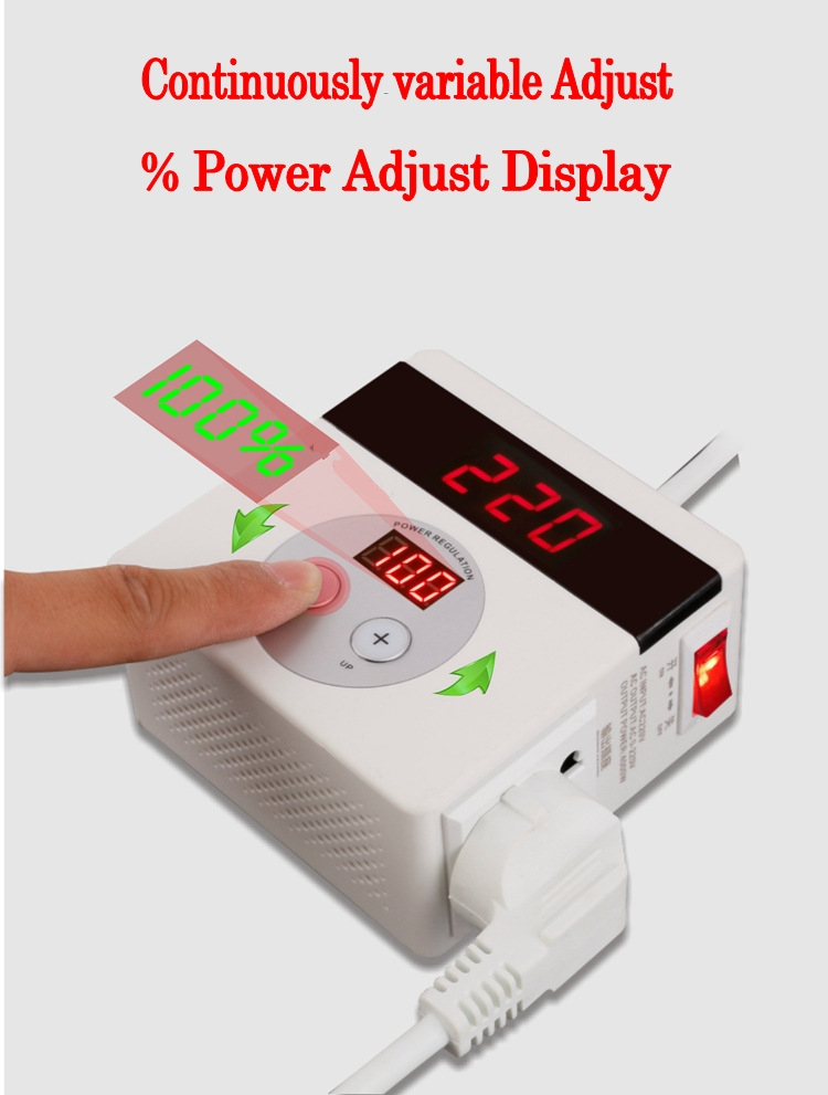 Image 2 - AC 220V 4000W SCR Electronic Voltage Regulator Temperature Speed Adjust Controller Dimming Thermostat regulated power supply-in Voltage Regulators/Stabilizers from Home Improvement