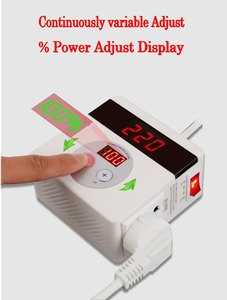 Image 2 - AC 220V 4000W SCR Electronic Voltage Regulator Temperature Speed Adjust Controller Dimming Thermostat regulated power supply