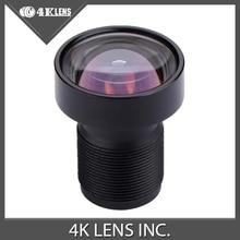 """4พันเลนส์3.4มิลลิเมตรกล้องเลนส์แบน1/2. 3 """"16MP M12 85องศาดีกว่า5.4มิลลิเมตรสำหรับYi 4พันและGoproดัดแปลงใหม่มา"""