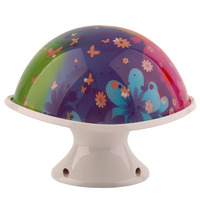 2016 High Quality Trendy LED Night Lamp Colorful Changing Colors Mushroom Lamp Night Light HOT