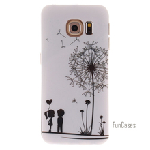 Case For Samsung Galaxy S3 S4 S5 Mini S6 Edge Plus Note 3 4 5 Case Colourful Painting Style Owl Bird Tiger Lion Soft TPU Case(China)