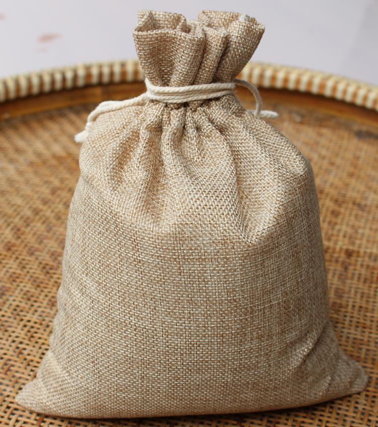 Aliexpress.com : Buy 7*10cm Faux jute/Hessian/cotton Mini ...