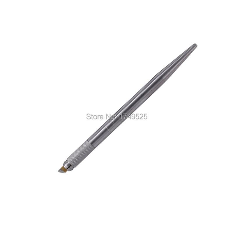 Tattoo olovka Stalni šminkerski stroj Mikroblading obrva olovka za - Tetovaže i tjelesna umjetnost - Foto 4