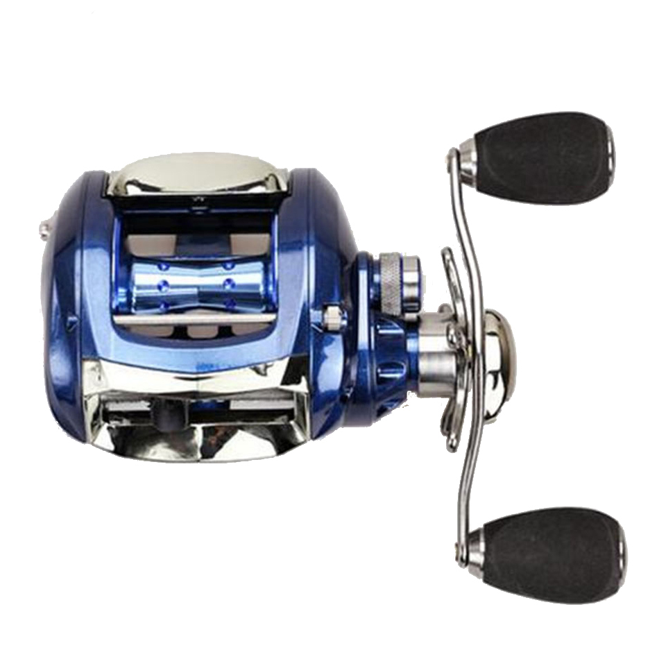 WALK FISH NEW 2017 All-Metal Housing Body Fishing Reel 12+1BB 6.2:1 280g Baitcasting Reel Lure Fishing Reel free shipping black hawk ecooda second generation metal body spinning reell lure fishing reel fish reel
