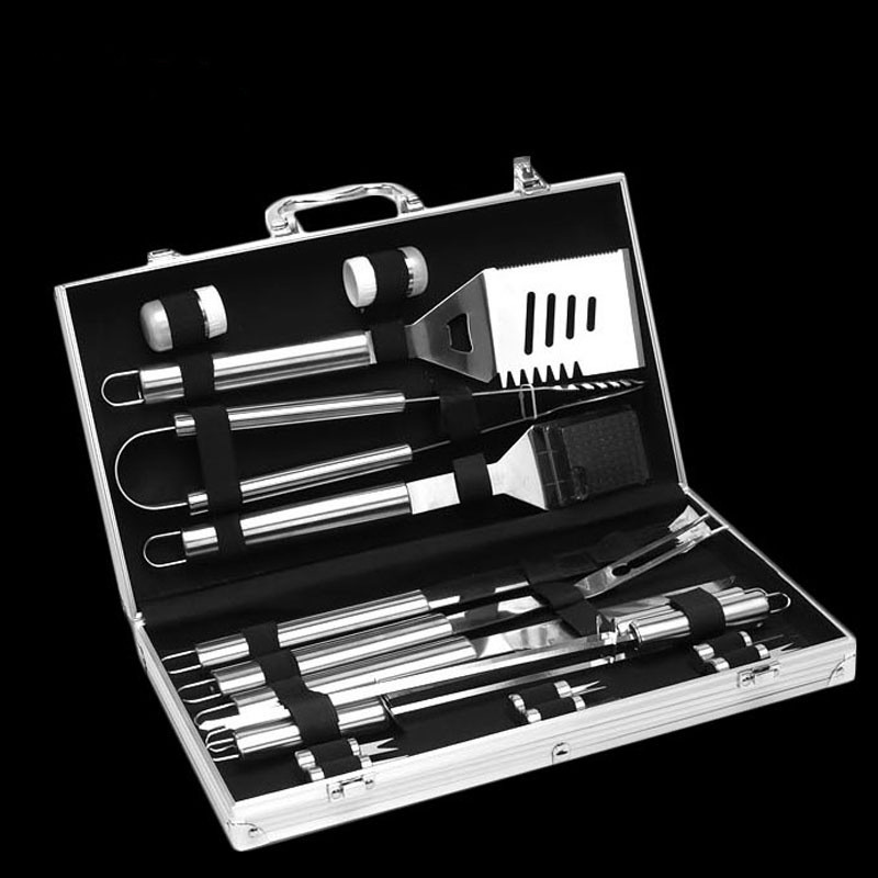 BBQ tools 18 piece set bbq Meige stainless steel grill outdoor barbecue fork - 2
