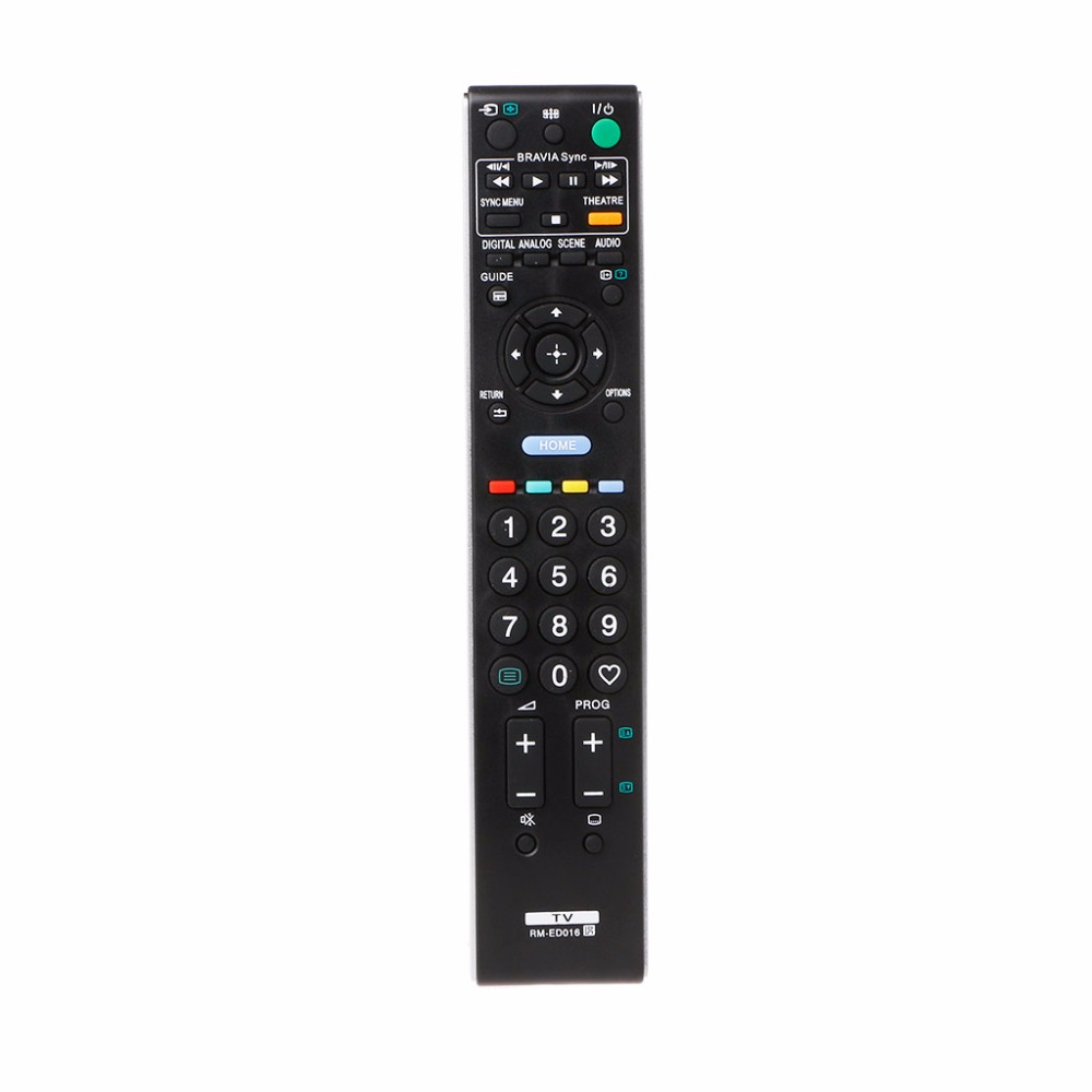 Universal Television Remote Control Replacement All Functions For TV RM-ED016