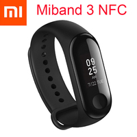 Original Xiaomi Mi band 3 NFC Miband 3 Smart Wristband Fitness Tracker Bracelet 0.78'' OLED Display Bluetooth 4.2 Miband 2 Mi2
