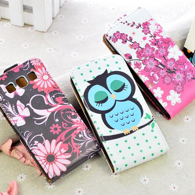 Printing Fashion Flip PU Leather case for Samsung Galaxy Win i8552 i8558 i8550 GT-i8552 Cover Vertical Magnetic mobile Phone Bag