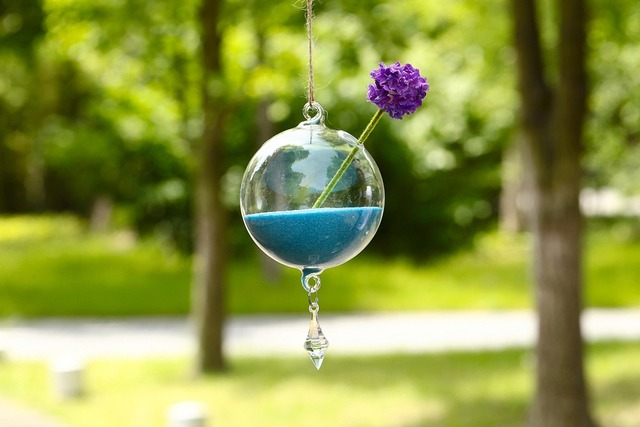 Decorative Glass Balls For Bowls Best Dia10Cm Glass Ball Flower Vase With Pendants Hydroponics Bowl Inspiration