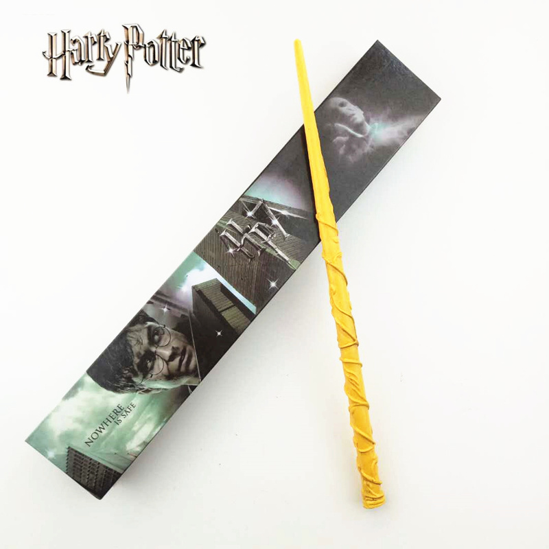 Cosplay Hermione Granger Role Play Magical Magic Wand Gift In Box Metal Core Harry Potter Magical Wand