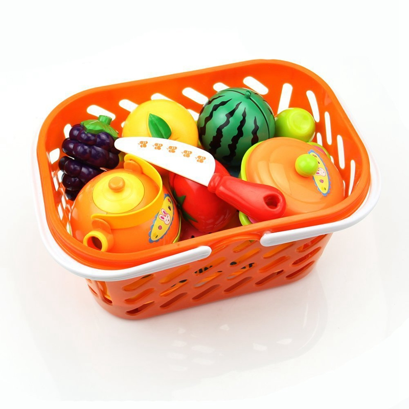 1Set Baby Gift Kitchen Food Play Toy Cutting Fruit Vegetable Knife For Kid
