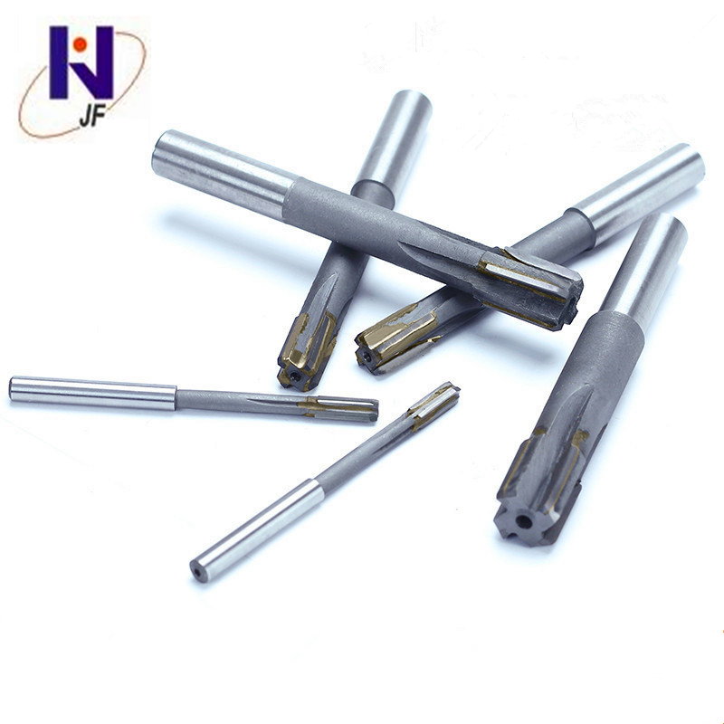JF D4.5*20*D4*63*4T Solid Carbide, 4 Flutes, reamer, Metric, 50HRC, Overall Length 60mm, cutter coating TiAlN