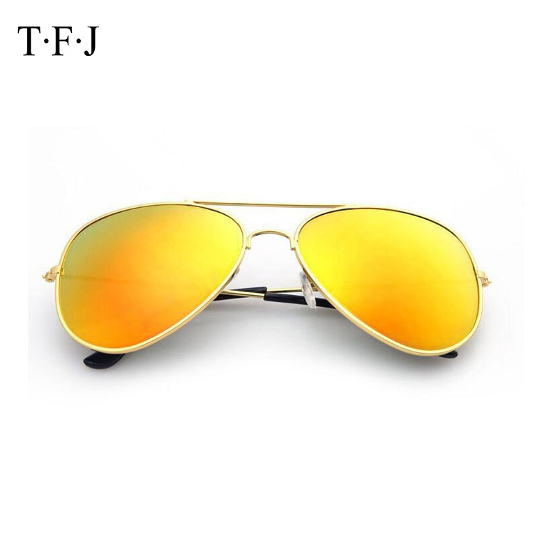 Multicolor Reflective Coating Lenses Sunglasses Men Women Retro Classic Style Eyeglasses Material Anti Glare UV Goggles