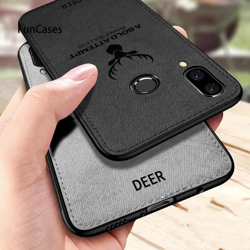 Textura de tela actualización funda del teléfono para Huawei Y9 Y7Pro Mate20 P20 P30 Pro Lite Nova 3 3i 4 Honor 8X 8C 9 10 Lite View20