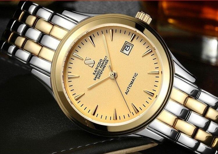 40MM SANGDO men's watch Sapphire mirror Automatic Self Wind movement  2016 new fashion Luxury Mechanical watches 320|watch f|watch fashion|watch sapphire - title=
