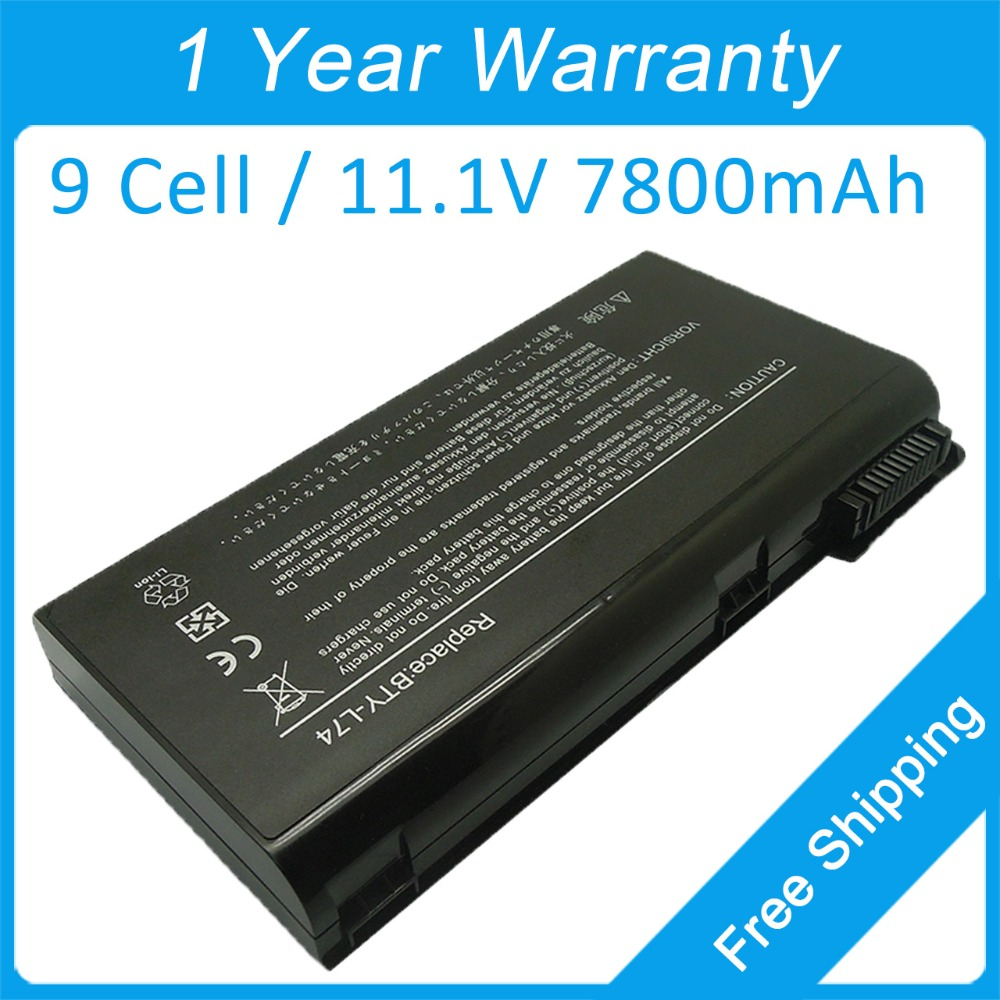New 9 cell laptop battery BTY-L75 BTY-L74 for msi CR500X CX500 CX620MX CX720X CR600X GE700  A7200  A7005 CR720 MS-1683 MS-6890 apexway 6600mah 9 cell laptop battery for dell btyvoy1 for alienware m17x r3 r4 mx 17xr3 mx 17xr4 318 0397 451 11817 7xc9n c0c5m