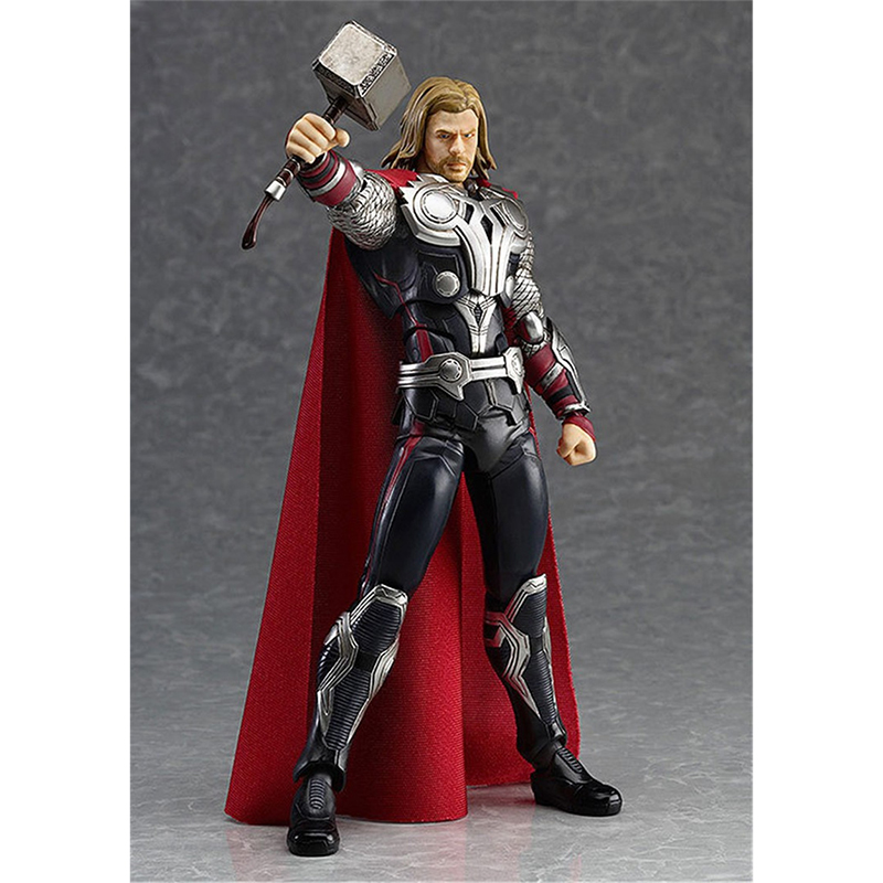 Super Hero Thor Action figure toys Thor figure Collection Model PVC toys 14cm For Kids Anime lovers as Christmas Gift N031 2017 new avengers super hero iron man hulk toys with led light pvc action figure model toys kids halloween gift