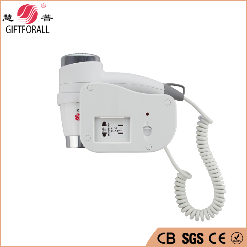 GIFTFORALL Selling High Quality  Wall Mounted Hair Dryer Electric Blower  Direct Current Motor professional Hair Dryer 1808-6-G direct selling rw7 10 200a outdoor high voltage 10kv drop type fuse