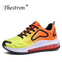 High Quality Outdoor Walking Sneakers Air Cushion Running Sports Shoes Lovers Damping Jogging Sneakers Non-Slip Athletic Shoe xtep women s luminous light running shoes damping anti slip athletic sneaker air outdoor sports shoes free shipping 984318116160