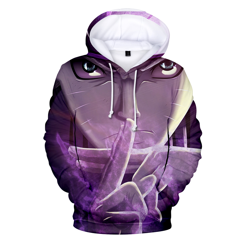 Fashion Naruto 3D Hoodies Sweatshirt Men Women Hooded Naruto Fashion Autumn Winter Long 3D Brand Fashion Hoody Tops