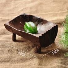 Bandeja jabonera de madera Natural hecha a mano Vintage estante de almacenamiento caja de jabón de madera para baño Baño de ducha Hotel de casa