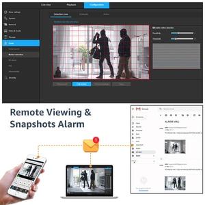 Image 5 - H, zobacz kamerę IP 5MP PoE Onvif kamera IP 5mp bezpieczeństwo zewnętrzne kamery zewnętrzne bezpieczeństwo w domu kamery Nas