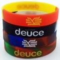 4 pcs redemoinho Kyrie Irving deuce segmento cor mix pulseira de silicone pulseiras frete grátis