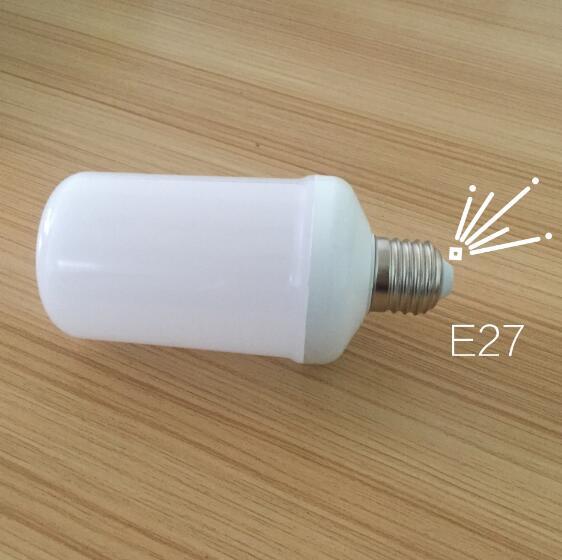 Lowest Price LED Lamp Bulb E27 B22 1800K Yellow Flickering Flame Fire 7W 2835 SMD 99 LED Light Bulb Corn Light Bulb AC85-265V