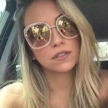 2017 new fashion designer brand retro vintage frame sunglasses mujer metal zonnebril dames de conducción de viaje gafas de sol mujer