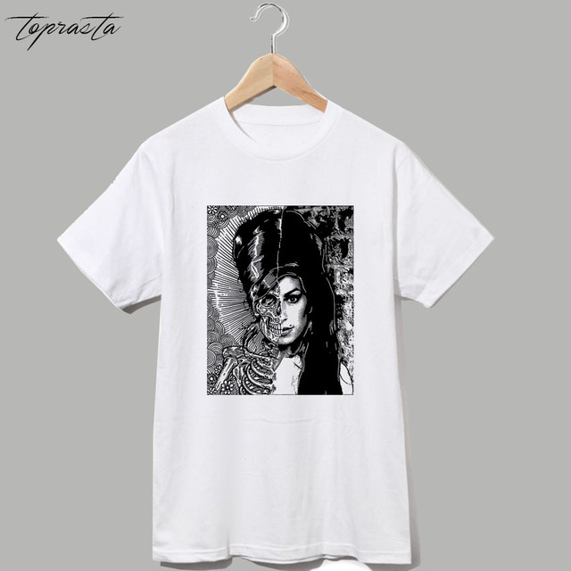 916457adab3 Amy winehouse sid Jimi Hendrix David Bowie vintage t shirt men women s top  tee item NO-RSHSSDX159