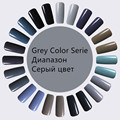 GREY color series UV Gel Polish Nail Gel Sexy Red and Soak off Long Nail Polish UV LED LastingGrey Colors Series Gel