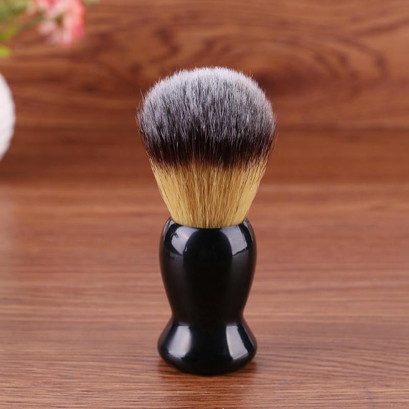 3 In 1 Shaving Soap Bowl Shaving Brush Shaving Stand Bristle Hair Shaving Brush Men Beard