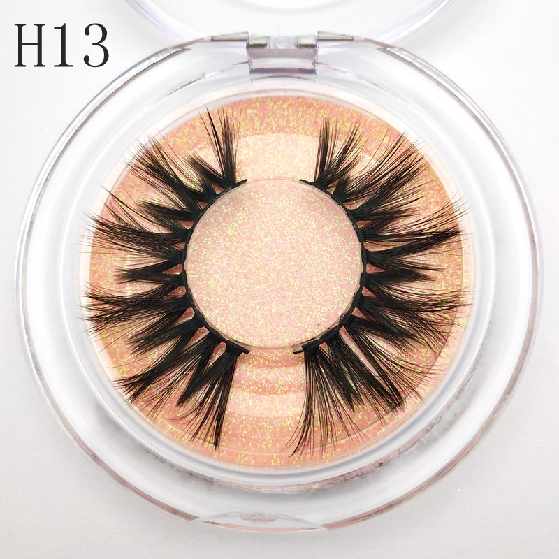 Buzzme 30 Pairs Wholesale 15 Style Eyelashes False Eyelash Crisscross 3D faux Mink Lashes Handmade Eye
