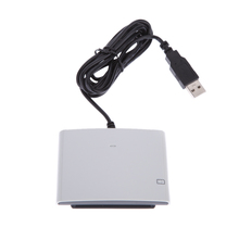 ACR38U R4 RFID Smart Contact Card Reader Writer with SIM Slot + 2 pcs 4442 Smart IC Cards + SDK Kit