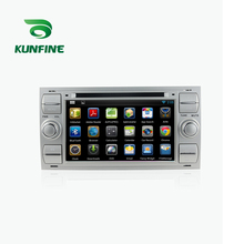 KUNFINE Android 7.1 Quad Core 2GB Car DVD GPS Navigation Player Car Stereo for Ford focus 1999-2008 Silver Radio headunit